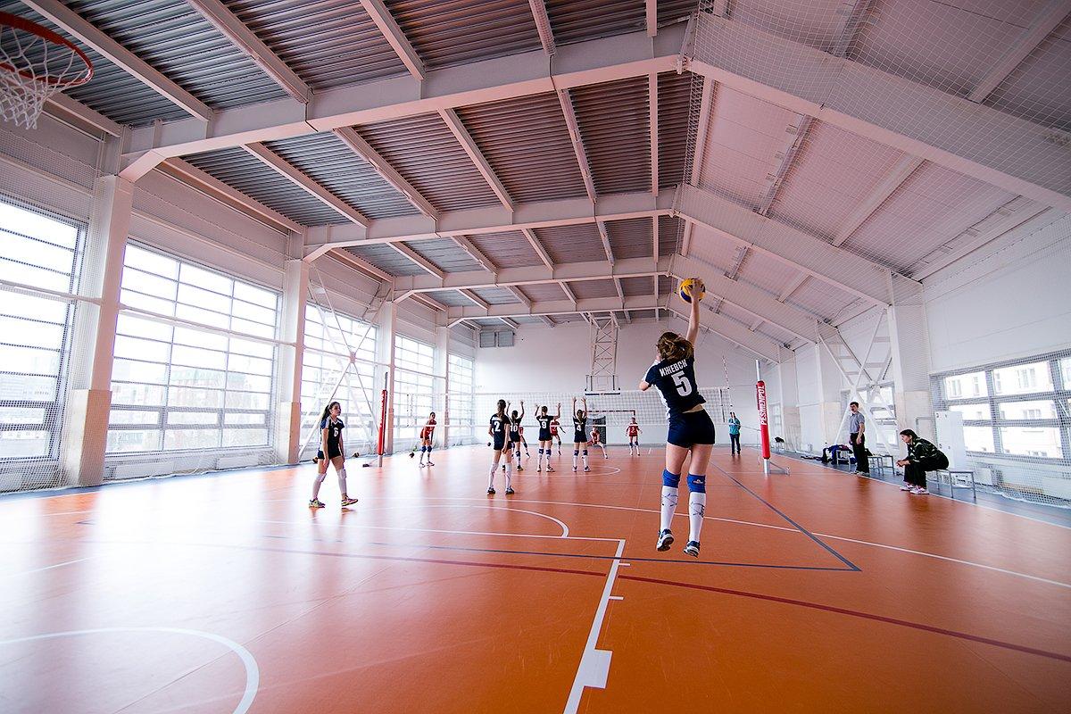 Спортивный ПВХ линолеум для закрытых залов